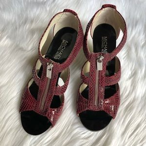 Michael Kors leather shoes size 7.5